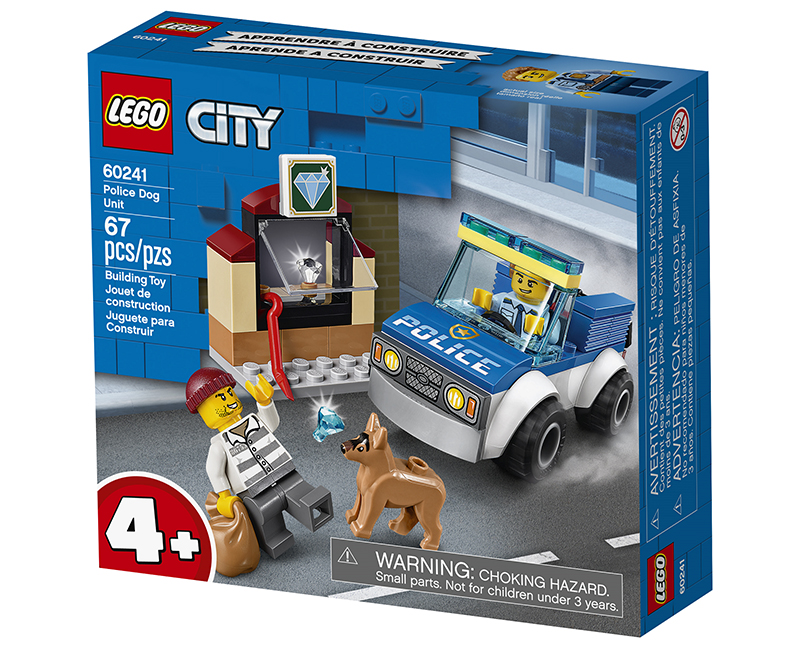 City Police Dog Unit lego package