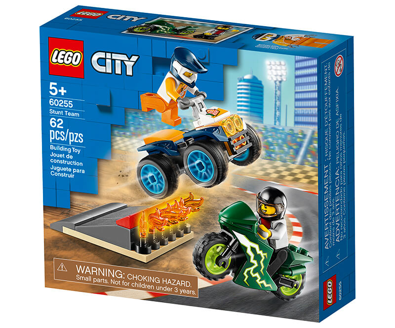 LEGO City Stunt Team package