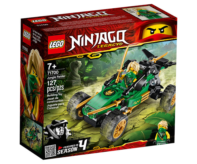 LEGO jungle raider ninjago package