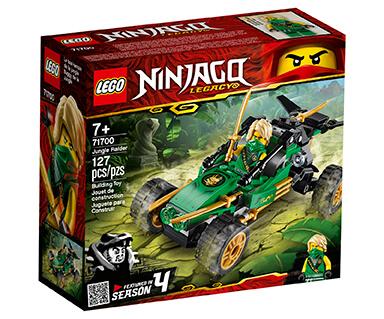 LEGO jungle raider ninjago package