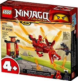 Kai's fire dragon LEGO package