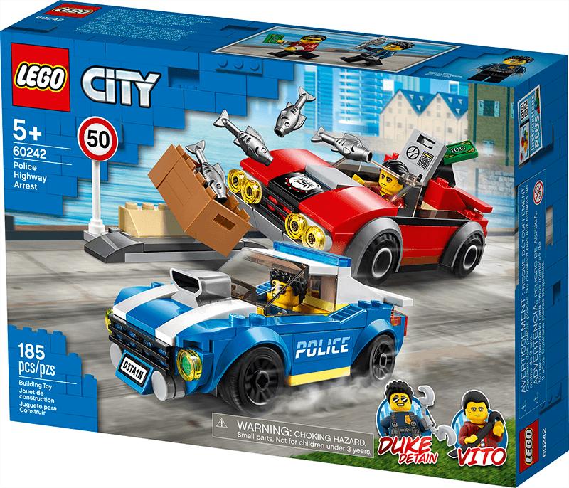 Police highway arrest LEGO package