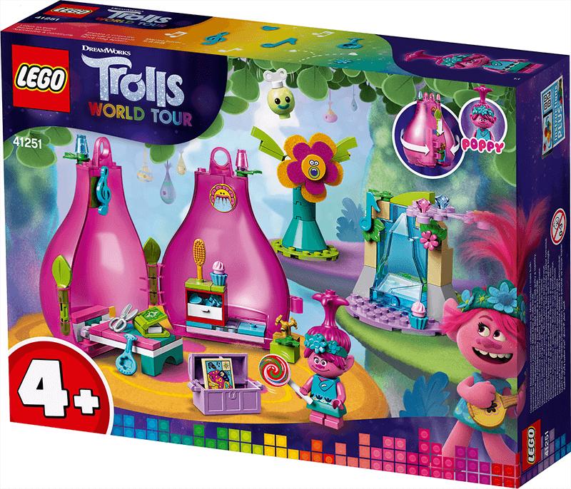 Poppy's pod LEGO package